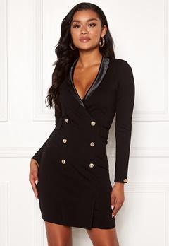 Chiara Forthi Lucca blazer dress Black Bubbleroom.se
