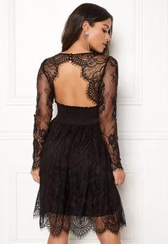 Chiara Forthi Lucette lace dress Black Bubbleroom.se