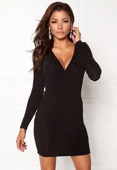 Chiara Forthi Lumina Dress Black Bubbleroom.no