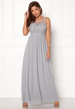 Chiara Forthi Lunetta Gown Grey Bubbleroom.se