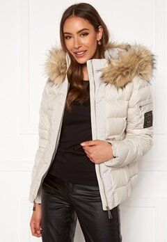 Chiara Forthi Madesimo down jacket Light beige Bubbleroom.se
