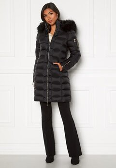 Chiara Forthi Madesimo Long Down Jacket Black Bubbleroom.se