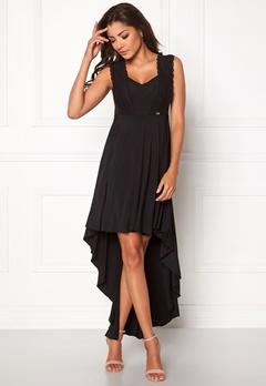 Chiara Forthi Maline Highlow Dress Black Bubbleroom.se