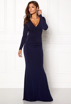 Chiara Forthi Mandy Maxi Dress Dark blue Bubbleroom.no