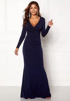 Chiara Forthi Mandy Maxi Dress Dark blue Bubbleroom.se