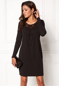 Chiara Forthi Maripier Dress Black Bubbleroom.no