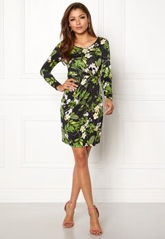 Chiara Forthi Marjorie Dress Black / Floral Bubbleroom.se