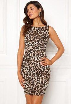 Chiara Forthi Marjorie Sleeveless Dress Leopard Bubbleroom.se