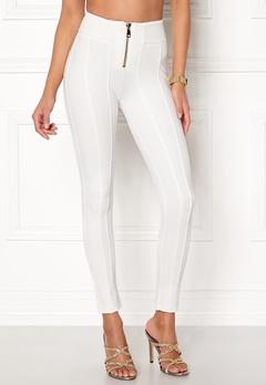 Chiara Forthi Marquesa trousers Offwhite Bubbleroom.se