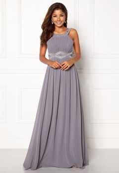 Chiara Forthi Matia Embellished Dress Dusty lilac Bubbleroom.se