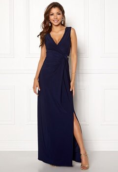 Chiara Forthi Mazzima Dress Dark blue Bubbleroom.se