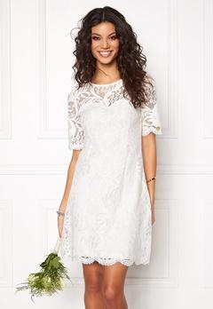 Chiara Forthi Michelle Lace Dress Antique white Bubbleroom.se