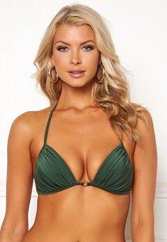 Chiara Forthi Monaco triangle padded bra Emerald green Bubbleroom.se