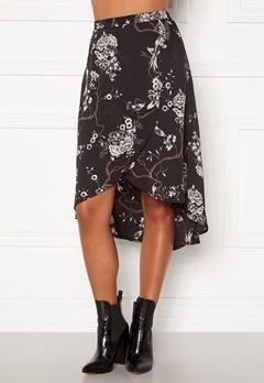 Chiara Forthi Nadia wrap skirt Black / Patterned Bubbleroom.se