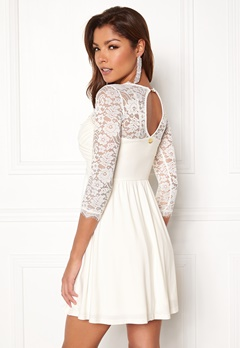 Chiara Forthi Natalia Dress White Bubbleroom.se
