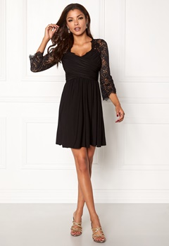 Chiara Forthi Nathalia Dress Black Bubbleroom.se
