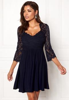 Chiara Forthi Nathalia Dress Dark blue Bubbleroom.se
