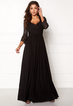 Chiara Forthi Nathalia Maxi Dress Black Bubbleroom.no