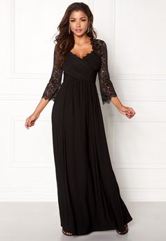 Chiara Forthi Nathalia Maxi Dress Black Bubbleroom.se