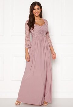 Chiara Forthi Nathalia Maxi Dress Dusty lilac Bubbleroom.se