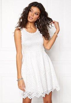 Chiara Forthi Nicoletta Dress Winter white Bubbleroom.eu