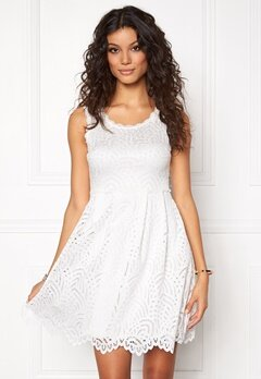 Chiara Forthi Nicoletta Lace Dress Winter white Bubbleroom.no