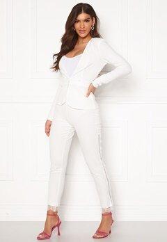 Chiara Forthi Nikita Lace Pants White Bubbleroom.se