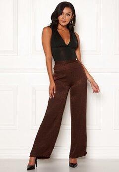Chiara Forthi Noemi Sleek Pants Brown Bubbleroom.se