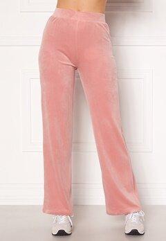 Chiara Forthi Nova velvet pants Dusty pink Bubbleroom.se
