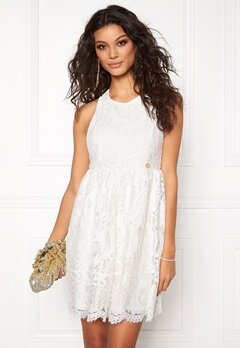 Chiara Forthi Ornela Lace Dress Antique white Bubbleroom.no