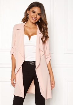 Chiara Forthi Paris trenchcoat Dusty pink Bubbleroom.se