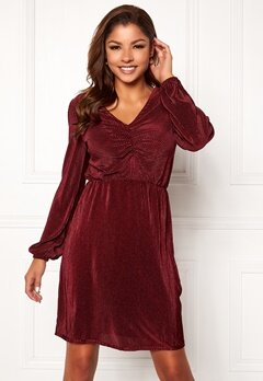 Chiara Forthi Perla dress Wine-red Bubbleroom.se