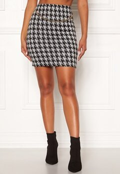 Chiara Forthi Peroni chain skirt Black / White Bubbleroom.se