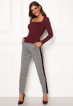 Chiara Forthi Pietra pants Grey / Checked Bubbleroom.se