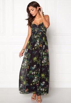 Chiara Forthi Primarosa  Dress Black / Floral Bubbleroom.eu