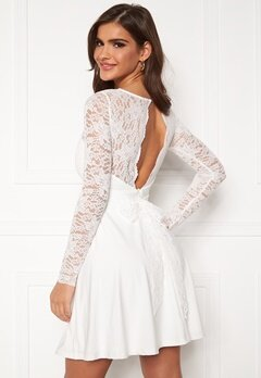 Chiara Forthi Riccia Dress White Bubbleroom.se