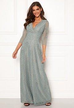 Chiara Forthi Riveria Lace Gown Green Bubbleroom.se