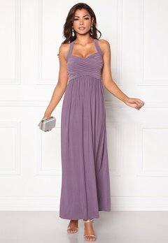 Chiara Forthi Rochelle Maxi Dress Dusty lilac Bubbleroom.se