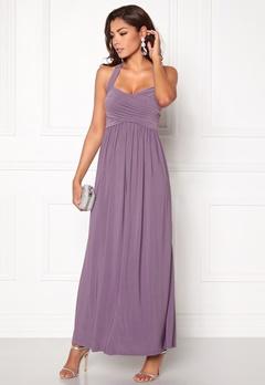 Chiara Forthi Rochelle Maxi  Dress Dusty lilac Bubbleroom.eu