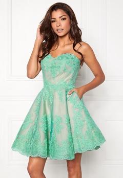 Chiara Forthi Rosetta Prom Gown Mint green Bubbleroom.se