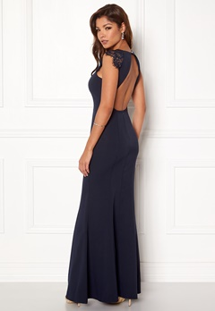 Chiara Forthi Sancia Dress Navy Bubbleroom.se