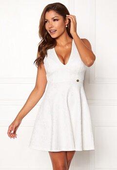 Chiara Forthi Sarina bonded lace dress White Bubbleroom.se