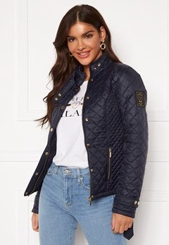 Chiara Forthi Sarraceno Short Jacket Dark navy Bubbleroom.se