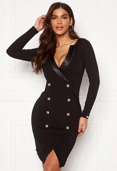 Chiara Forthi Sasha Blazer Dress Black Bubbleroom.se