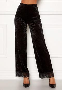 Chiara Forthi Sentiera Lace Pants Black Bubbleroom.se
