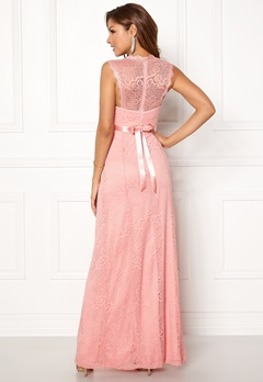 Chiara Forthi Serena Lace Gown Pink Bubbleroom.se