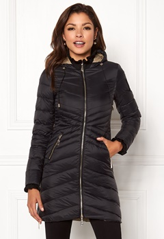 Chiara Forthi Sestriere Light Down Jacket Black Bubbleroom.se