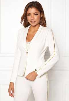Chiara Forthi Shani suit jacket White / Gold Bubbleroom.se