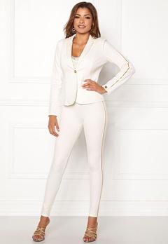 Chiara Forthi Shani suit pants White / Gold Bubbleroom.se