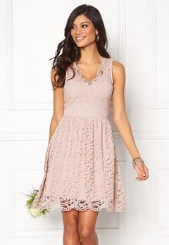 Chiara Forthi Sherbelle Lace Dress Beige Bubbleroom.no